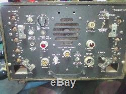 Vintage Radio Transmitter Receiver Navy Bureau of Ships MBF Collins Radio