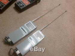 Vintage Repco AN/PRC-91A Receiver-Transmitter Radio Set in leather cases