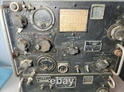 Vintage WW2 Ham Radio TCS-13 Transmitter CIH-52245-A & Receiver CIH-46159-A