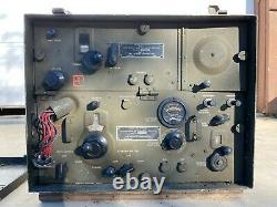 Vintage WWII Radio Transmitter & Receiver