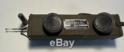 WW2 Military Walkie Talkie / Handie Talkie BC-611C Radio Receiver & Transmitter