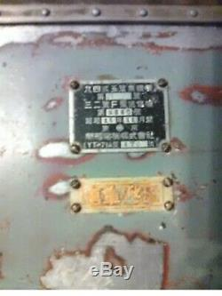 WW2 japanese Spy radio transmitter receiver