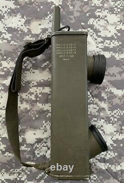 WWII 1944 Signal Corps US Army Radio Receiver Transmitter Walkie Talkie BC-611-C