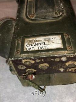 WWII BC-611 Us Army Signal Corps Radio Receiver Transmitter Rare