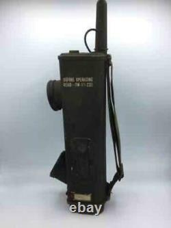 WWII SIGNAL Corps US ARMY Radio RECEIVER & Transmitter BC-611-F GALVIN Mfg