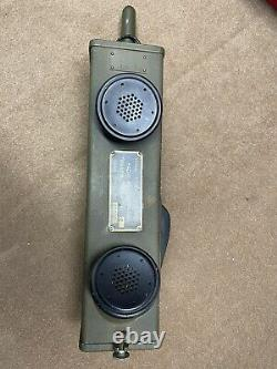 WWII Signal corps US Army Radio Receiver and Transmitter Walkie Talkie BC-611-E