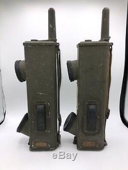 WWII US ARMY Radio Receiver Transmitter BC-611-C Signal Corps Walkie Talkie WW2