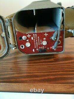 WWII WW2 Signal Corps US ARMY Radio Receiver Transmitter BC-611 Walkie Talkie