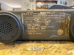 WWII World War 2 era US Army Signal Corps Radio Receiver & Transmitter