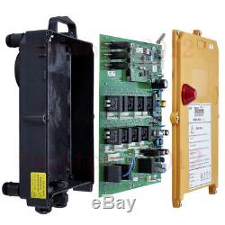 Wireless 12V Industrial Radio Remote Control Hoist Crane Transmitter Receiver