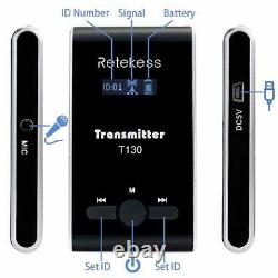 Wireless Church Translation/Tour Guide System Transmitter+Receiver+Charge Box