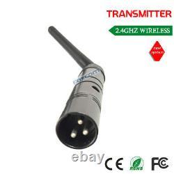 Wireless DMX512 1 sender 4 receiver