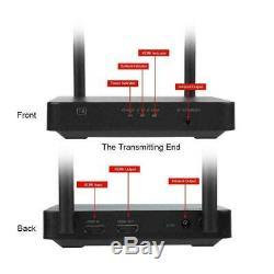 Wireless HDMI Extender 2.4G/5G Wifi 1080P HD Transmitter Receiver Network LPCM