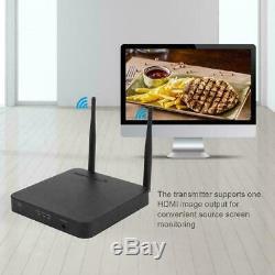 Wireless HDMI Extender 2.4G/ 5G1080P HDMI Transmitter Receiver US 100-240V CO