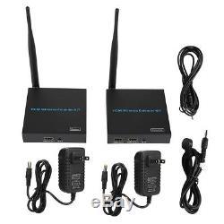 Wireless HDMI Extender 2.4G/ 5GHz 1080P HDMI Transmitter Receiver 100-240V
