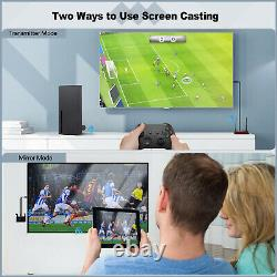 Wireless HDMI Transmitter & Receiver Display HD 4K 1080P Vedio Audio Streaming