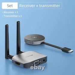 Wireless HDMI-compatible Video Transmitter & Receiver Extender Display Adapter D