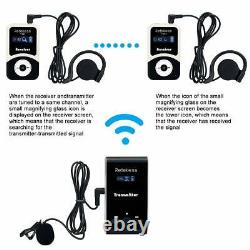 Wireless Tour Guide/Church System Charge Case+Transmitter+Receiver for Teaching
