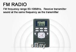 Wireless Tour Guide System Transmitter+Receiver Training/Meeting/Campus Teaching