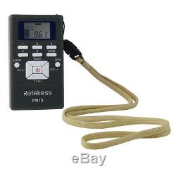Wireless Tour Guide System for Guiding Meeting FM Transmitter+20Radio Receiver