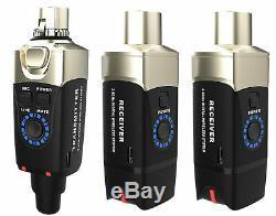 XVive U3DR Wireless XLR Package, 1x Transmitter, 2x Receiver Brand New