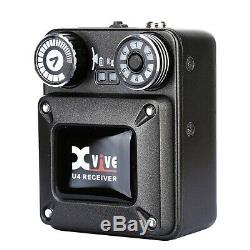 Xvive Audio U4 Wireless In-Ear Monitoring System Transmitter & Receiver