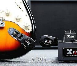 Xvive U2 2.4GHZ Wireless Guitar System Digital Guitar Transmitter Receiver BK