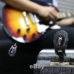 Xvive U2 Wireless Guitar System 2.4GHZ Digital Transmitter & Receiver Carbon